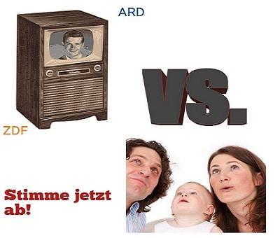Umfrage Famile versus TV