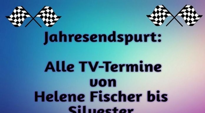 TV Termine Helene Fischer 2061