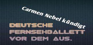 deutsche fernsehballett vor dem aus
