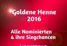 Goldene Henne 2016