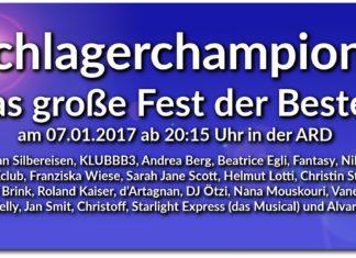 schlagerchampions 07.01. alle stars und gäste