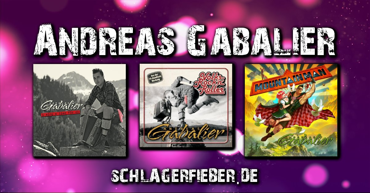 Andreas Gabalier Der Volksrocknroller Schlagerfieberde