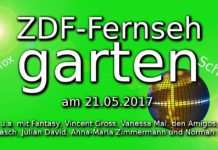 zdf fernsehharten discofox schlager 21.05.2017