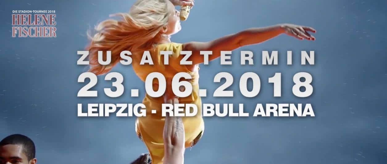 Helene Fischer Stadion Tournee Weitere Show In Leipzig
