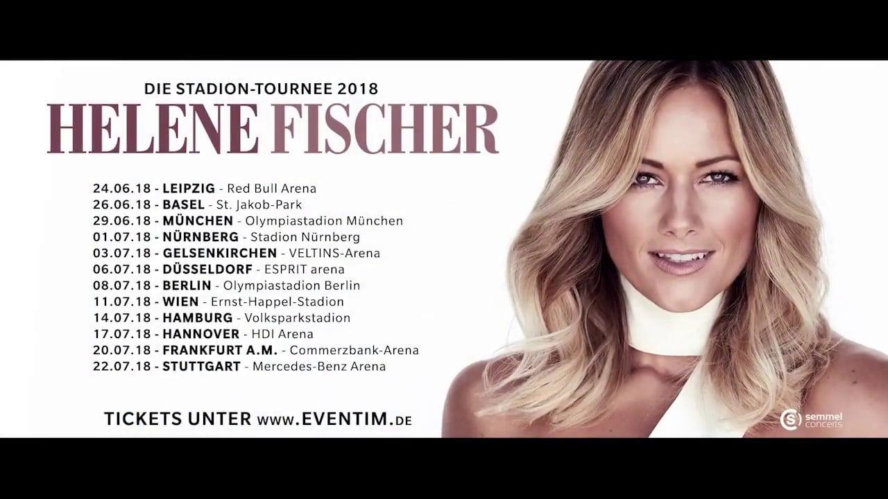 Helene Fischer Die Stadion Tournee 2018 Tickets Und Termine