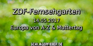 zdf fernsehgarten 14.05. esc muttertag