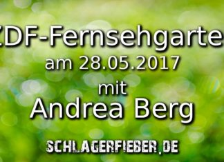 zdf fernsehgarten mit andrea berg 28.05.2017