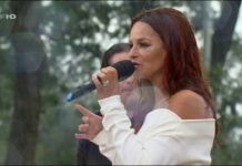 Sexy: Andrea Berg video. regen drei-länder-show