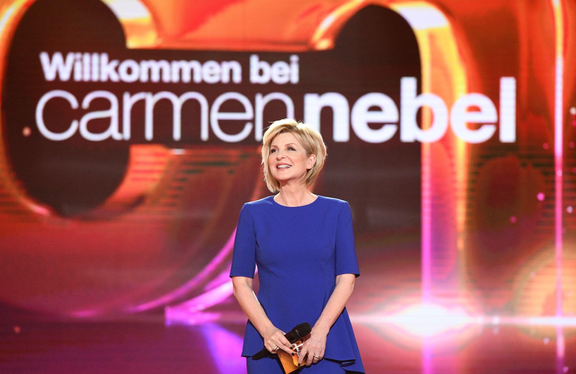 Willkommen bei Carmen Nebel am 29.09.2018: Diese Stars sind