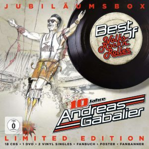 Best of-10 Jahre Volksrock'N'Roller Jubiläumsbox mit vielen Extras!