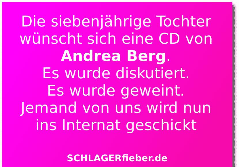 Andrea Berg CD Witz Spruch Schlagerfieber