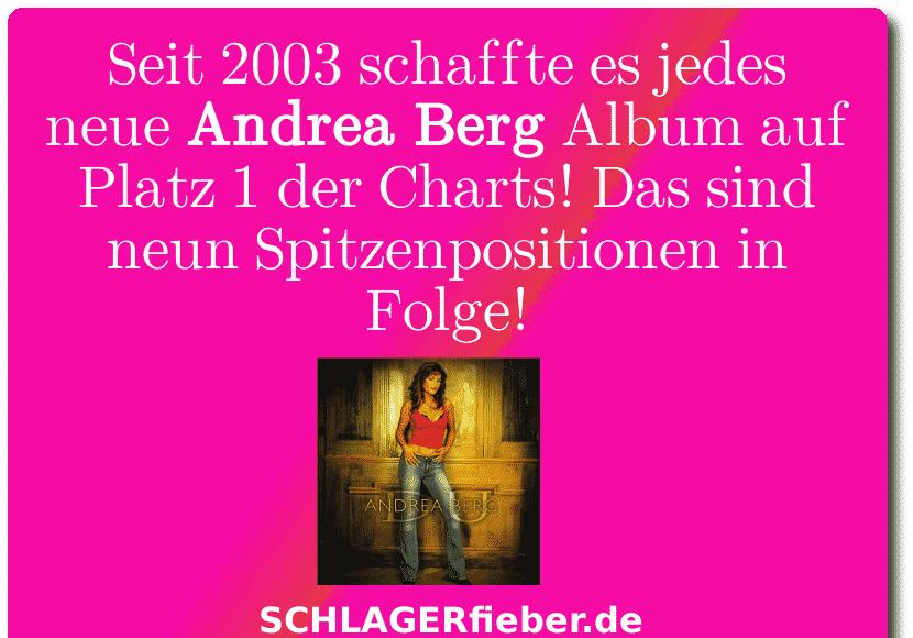Andrea Berg Rekord Bild Platz 1
