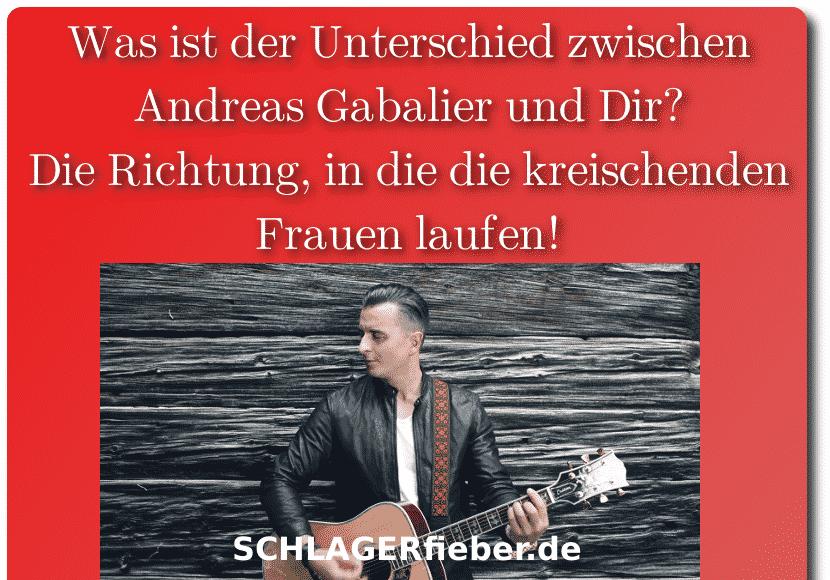 Andrea Gabalier Witz Spruch
