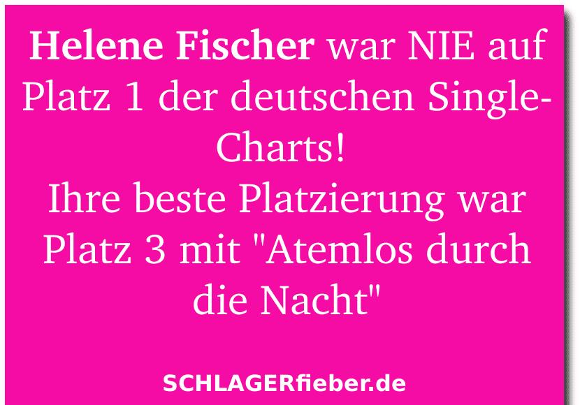 Helene Fischer Rekord Atemlos durch die nacht Schlager-Fakten
