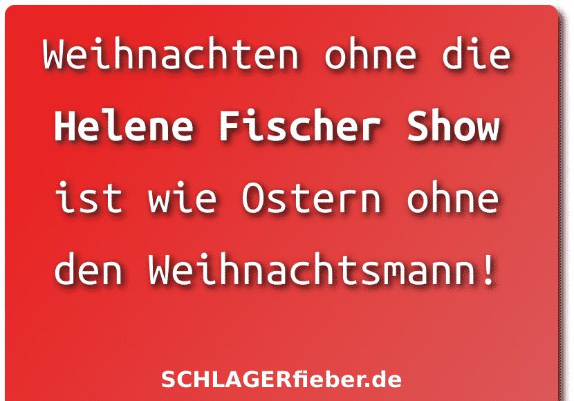 Helene Fischer show 2019 zdf spruch witz