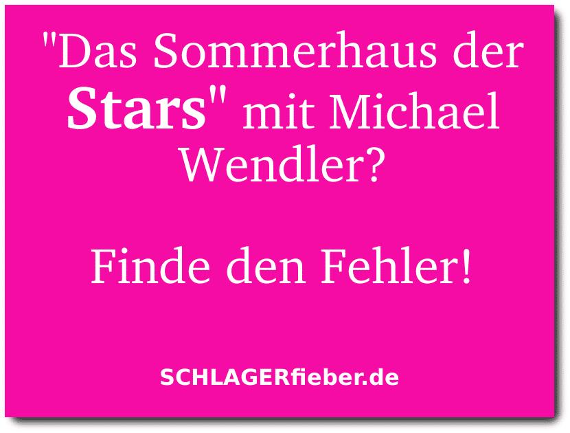 Michael Wendler Witz Spruch Somerhaus der Stars