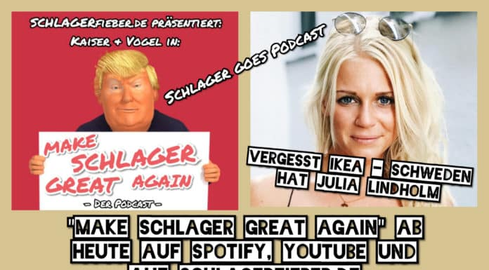 "Der Schlager Podcast ""Make Schlager great again"""