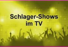 Alle Schlager-Shows im TV - Termine, Gäste, Sender 1