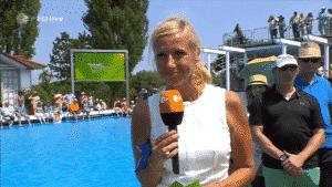 Andrea Kiewel darf den ZDF-Fernsehgarten nicht verlassen