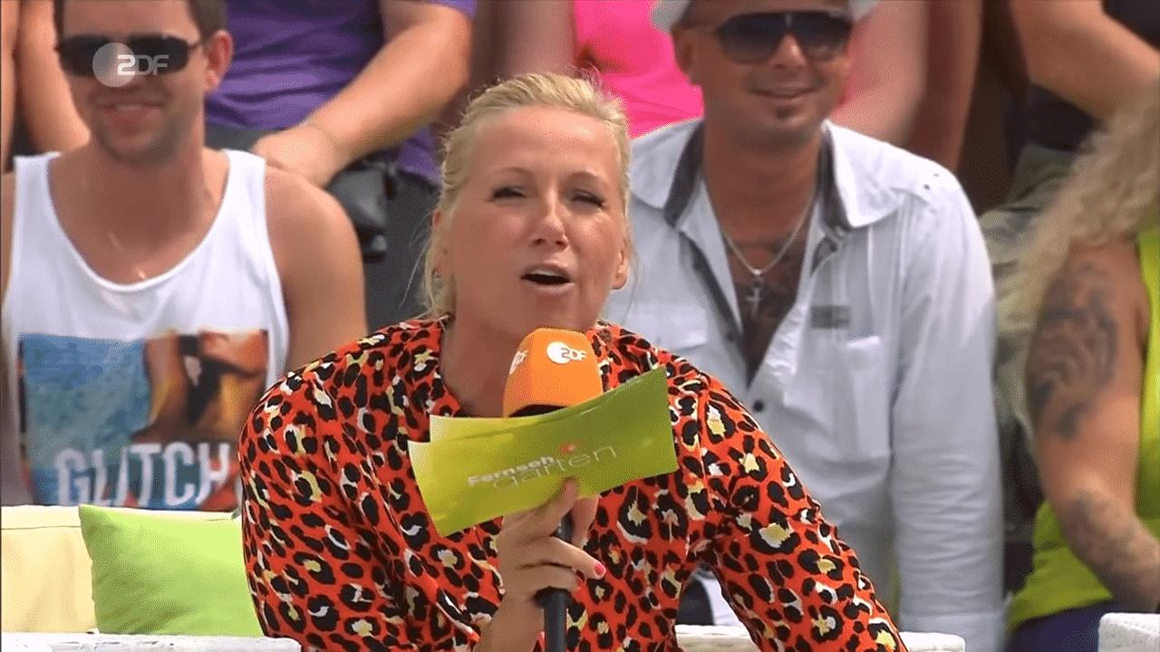 Andrea Kiewel darf den ZDF-Fernsehgarten nicht verlassen!