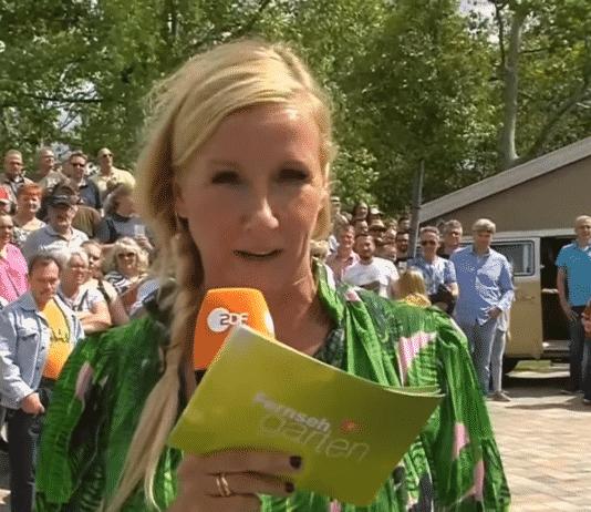 Andrea Kiewel verlässt den Mainzer Lerchenberg und geht on Tour!