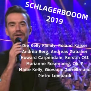 Schlagerbooom 2019 alle Stars und Gäste
