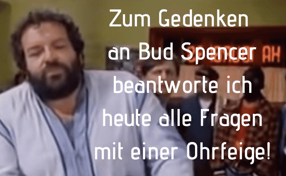 Bud Spencer Spruch