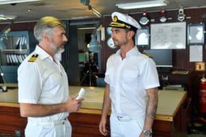 Florian Silbereisen als Kapitän auf dem ZDF-Traumschiff