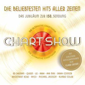 """""""Die 150. Chart Show – Die große Jubiläumsshow"""" am 03.01. bei RTL die CD"""