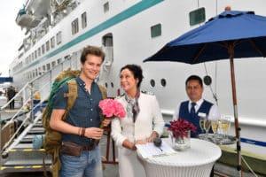 Am 01.01.2020 reist Kapitän Florian Silbereisen mit dem ZDF-Traumschiff nach Kolumbien!