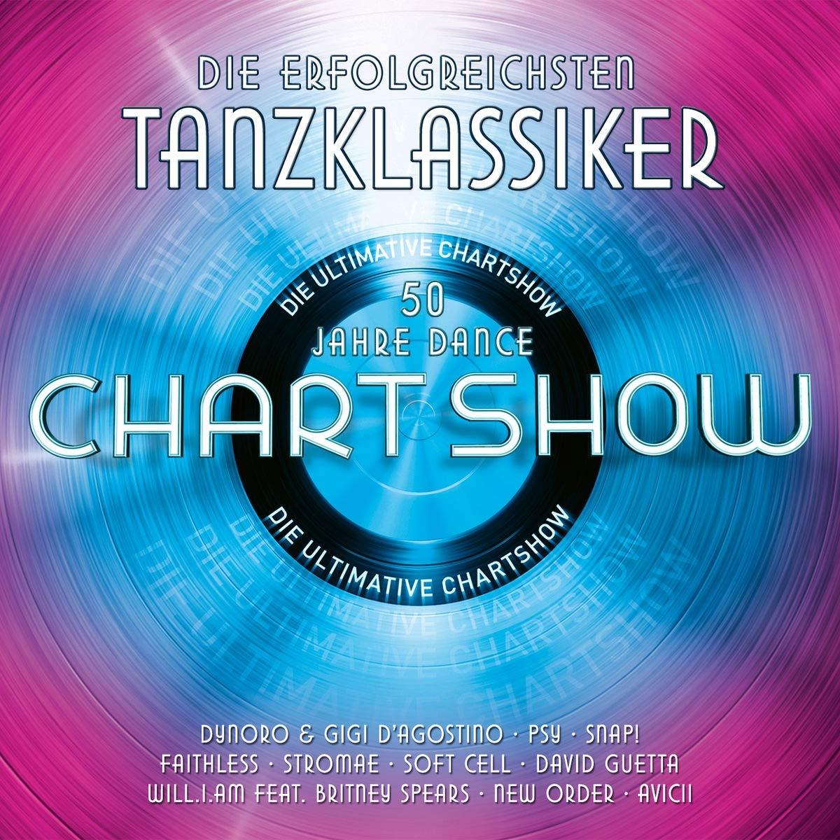 Die ultimative Chartshow am 11.06. mit den erfolgreichsten Dance-Hits